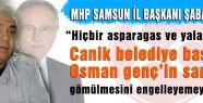 Samsun MHP'den Yalan habere Tepki!