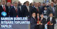 Samsun Türk Eğitim-Sen İstişare Toplantısına Yoğun Katılım