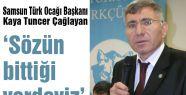 Samsun Türk Ocağı: 'Yazıcıoğlu'nu anıyoruz'