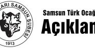 Samsun Türk Ocağından '1915' Açıklaması