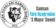 Samsun Türk Ocağı'ndan '3 Mayıs' Daveti