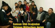 Samsun Ülkü Ocağından Türkmen Mültecilere destek
