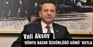 Samsun Valisi, Dünya Basın Özgülüğünü Kutladı