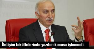 Samsun Valisi Şahin: İletişim fakültelerinde yazılım konusu işlenmeli