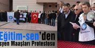 Samsun'da Akademisyen Maaşları Protestosto edildi