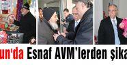 Samsun'da Esnaf AVM'lerden şikayetçi