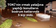 Samsun'da sel felaketinin tablosu