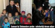 Samsun'da Türkmenlere Yardım Seferberliği Devam Ediyor