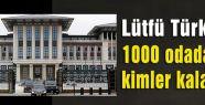 Sarayın içindeki 1000 oda hangi amaçla kullanılacak?
