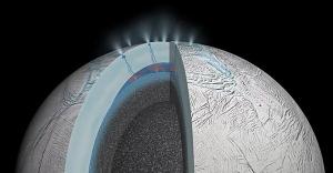 Satürn'ün uydusunda yüzeyin altında okyanus var