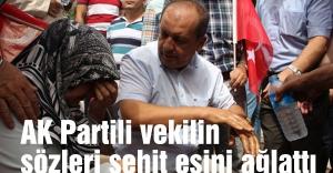 Şehit eşi: Başbakanım gel bana da ceza ver şimdi