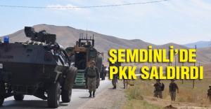 Şemdinli'de PKK'dan eş zamanlı saldırı