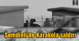 Şemdinli'de PKK karokola roketli saldırı çatışma devam ediyor