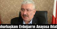 Semih Yalçın; 'Erdoğan'ın Anayasa İhlalleri'