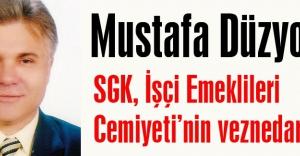 SGK, İşçi Emeklileri Cemiyeti'nin veznedarı mı?