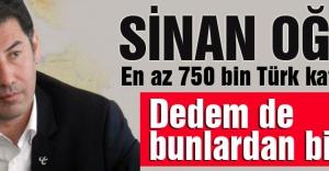 Sinan Oğan: En az 750 bin Türk Katledildi