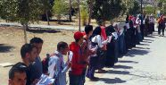 Sisi'nin adaylığı protesto edildi...