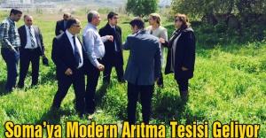Soma'ya Modern Arıtma Tesisi...