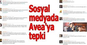 Sosyal medyada Avea'ya tepki