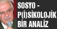 SOSYO - P(İ)SİKOLOJİK BİR ANALİZ