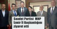 SP'den MHP İzmir İl Başkanlığına Ziyaret