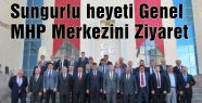 Sungurlu heyeti MHP Genel Merkezini ziyaret etti
