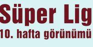 Süper Lig 10. hafta görünümü