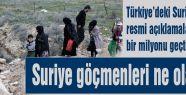 Suriye göçmenleri ne olacak