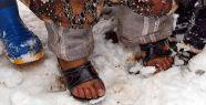 Suriye'de dokuz çocuk donarak öldü