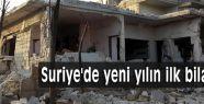 Suriye'de yeni yılın ilk bilançosu