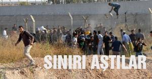 Suriyeliler sınırı aştı!