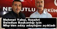 Suşehri'nde MHP adayını seçti
