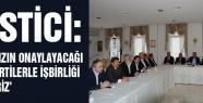 'TABANIMIZIN ONAYLAYACAĞI SİYASİ PARTİLERLE İŞBİRLİĞİ YAPABİLİRİZ'