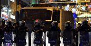 Taksim'de polis müdahalesi...