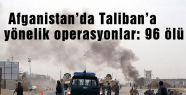 Taliban'a yönelik operasyon
