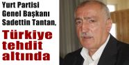 Tantan, Türkiye Tehdit Altında