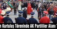 Tarsus'ta Ak Parti töreni terketti