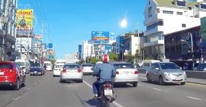 Tayland'a meteor düştü
