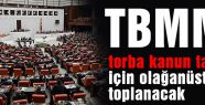 TBMM torba kanun tasarısı için olağanüstü toplanacak