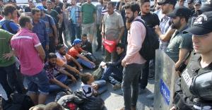 TEM'de Suriyelilere polis engeli