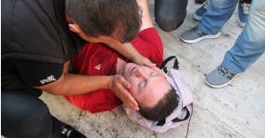 Terör protestosunda sinir krizi: Yeter artık!