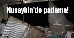 Teröristler Nusaybin'de Ahmet Kaya köprüsünü patlattılar