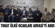Tokat Ülkü Ocakları Arvasi'yi Andı