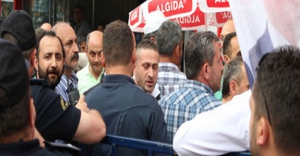 Trabzon Mitinginde  AKP-MHP Gerginliği