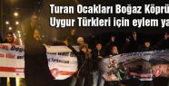 Turan Ocakları Boğaz Köprüsü'nde Eylem Yaptı