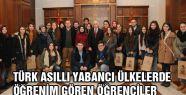 Türk Asıllı Yabancı Öğrencilerden Samsun Valisine Ziyaret