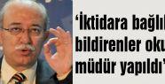 Türk Eğitim Sen: İktidara bağlılığını bildirenler okullara müdür yapıldı