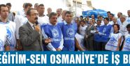 Türk Eğitim-Sen Osmaniye'de İş Bıraktı
