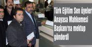 Türk Eğitim-Sen üyelerinden Haşim Kılıç'a mektup