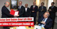 Türk Kızılayı Samsunspor'a Teşekkür Etti